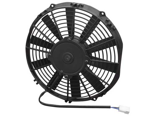11Inch Medium Profile Fan / Push