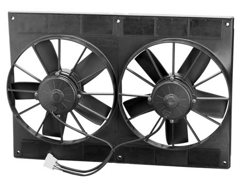 11Inch Dual High Performance Fan / Pull