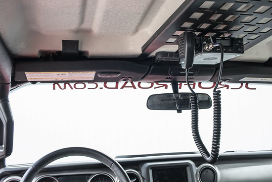 JCR Offroad Jeep JL/JT Overhead Molle Panel For 18-Up Wrangler JL and Gladiator JT - JLOMP-PC