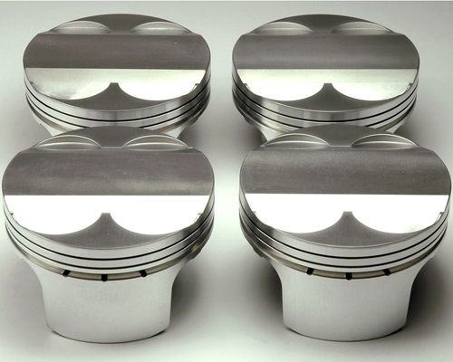 Cosworth 11:1 Forged 87.5mm Pistons w/o Rings Ford Duratec / Mazda MZR 2.0L / 2.3L 01-11