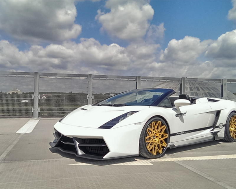 Prior Design Edition Front Bumper with Front Lip Spoiler Lamborghini Gallardo 03-08