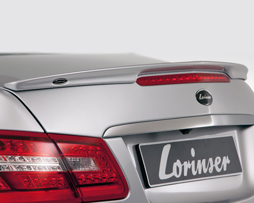 Lorinser Elite Rear Deck Lid Spoiler Mercedes-Benz E350 / E550 Coupe 10-12