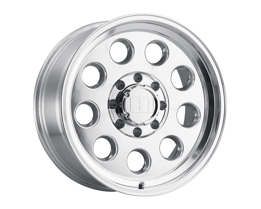 Level 8 Hauler Wheel 16x6  6x139.7 0mm Polished - 1660HLR006140P08