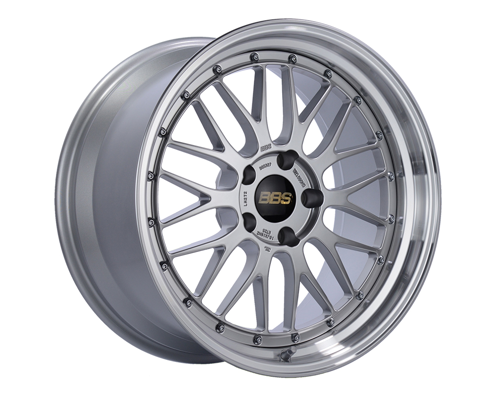 BBS LM Wheel 19x10 5x120 25mm Diamond Silver | Diamond Cut Rim LM272DSPK - LM272DSPK