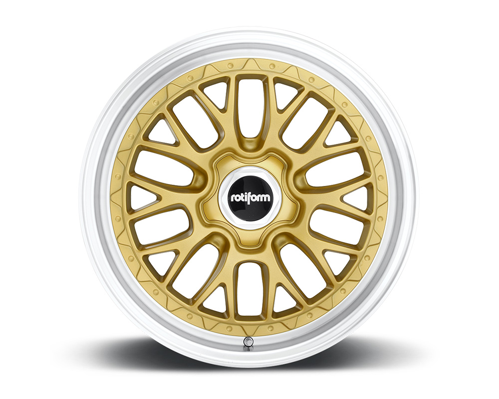 Rotiform LSR Gold & Machined Cast Monoblock Wheel 18x9.5 5x114.3 25mm - R156189565+25