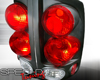 SpecD Black 3-D Altezza Tail Lights Dodge Ram 02-06