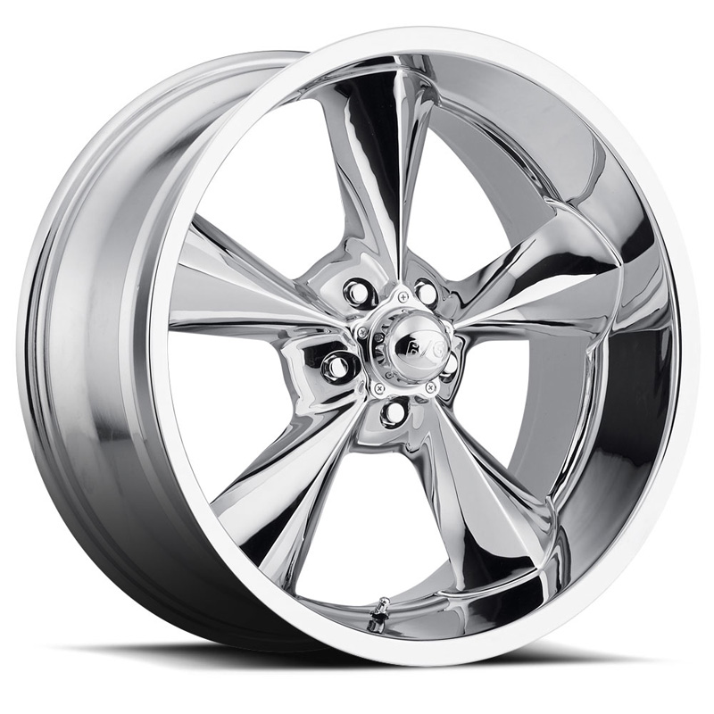 MB Wheels Old School Chrome Wheel 18x8 5x120.65 0 - DT-23204