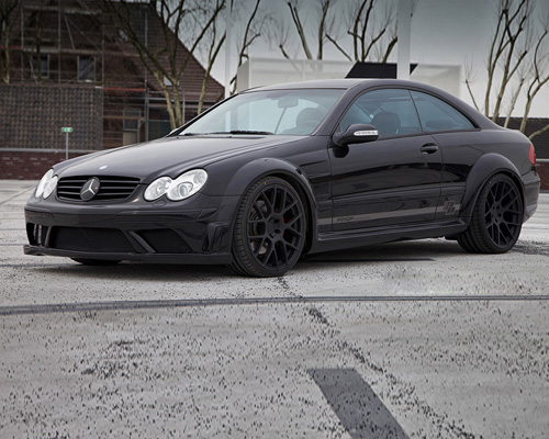 Prior Design Black Edition Widebody Mercedes CLK W209 04-09