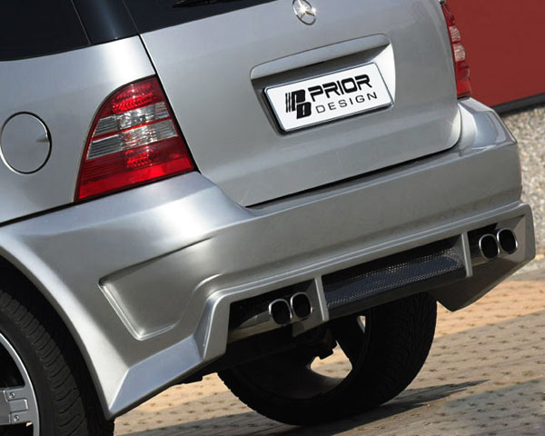 Prior Design Exclusiv-Line Rear Bumper Cover Mercedes-Benz M-Class W163 98-05