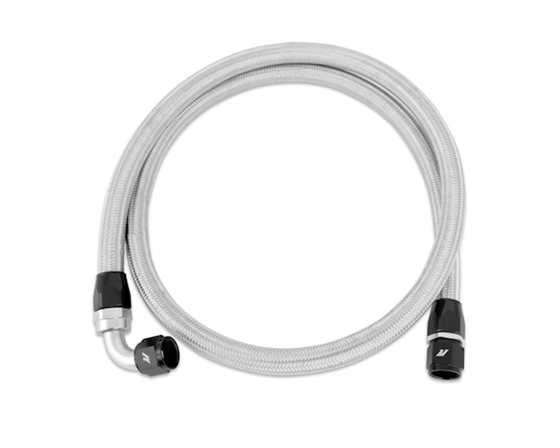 Mishimoto 5ft Stainless Steel Braided Hose with -10AN Fittings Universal