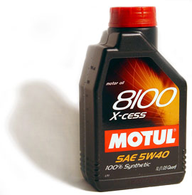 MOTUL 8100 5W40 X-cess Synthetic Engine Oil 1 Liter - 102784