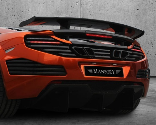 Mansory Carbon Fiber Diffuser with Fog Light McLaren MP4-12C 12-14