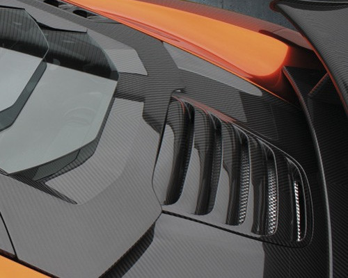 Mansory Carbon Fiber Engine Air Outtake Cover McLaren MP4-12C 12-14