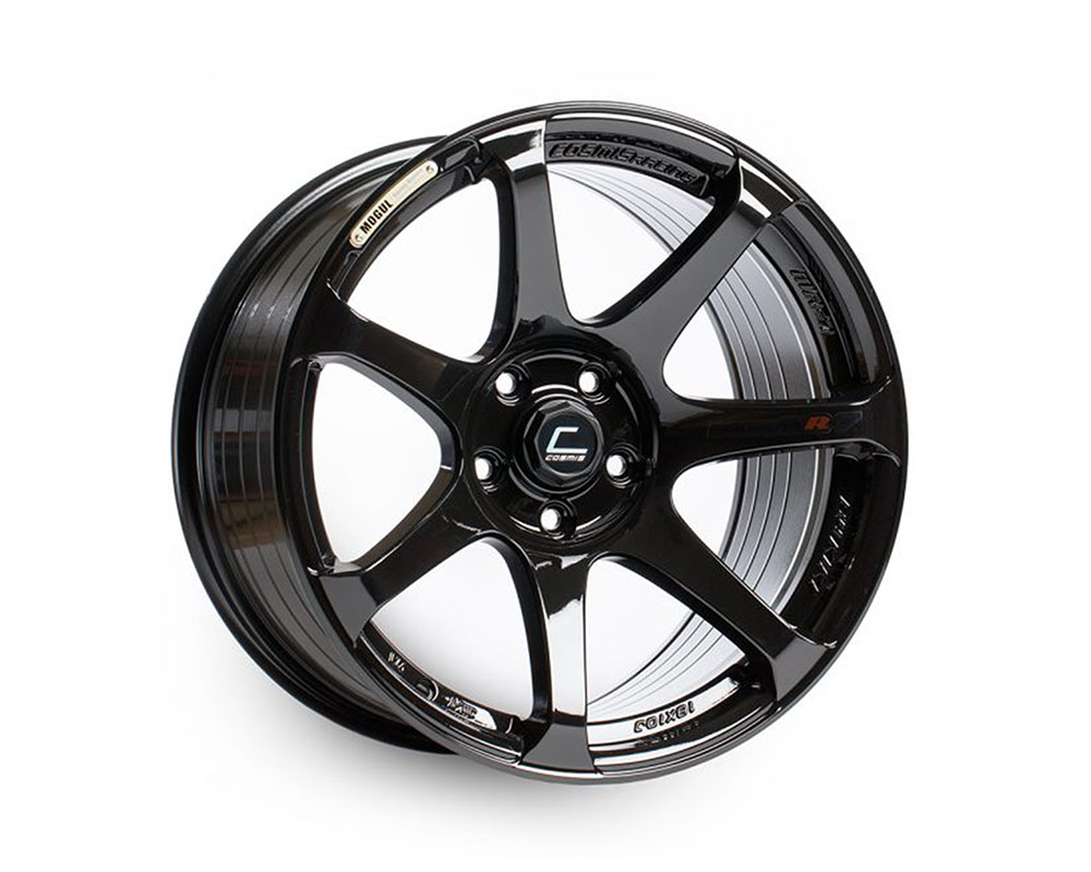 Cosmis Racing MR7 Wheel 18x9 5x114.3 +25mm Black - MR7-1890-25-5x114.3-B