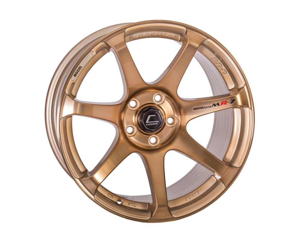 Cosmis Racing MR7 Wheel 18x9 5x100 +25mm Hyper Bronze - MR7-1890-25-5x100-HBR