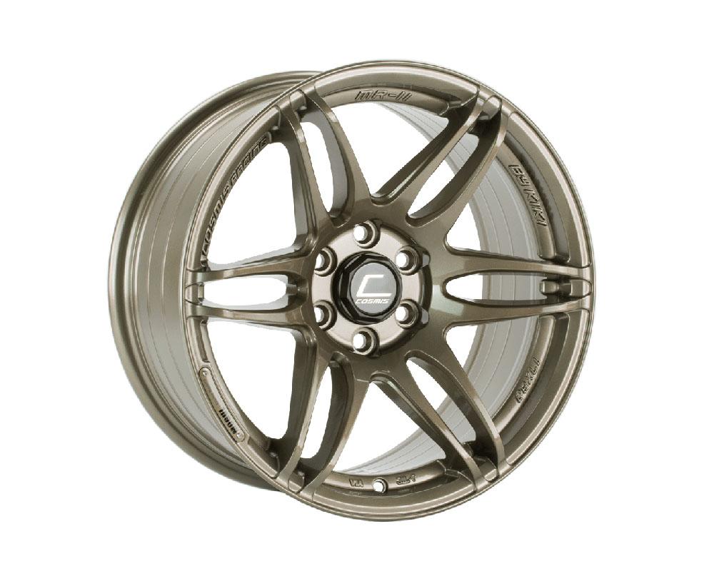 Cosmis Racing MRII Wheel 17x8 6x114.3 +15mm Bronze - MRII-1780-15-6x114.3-BR