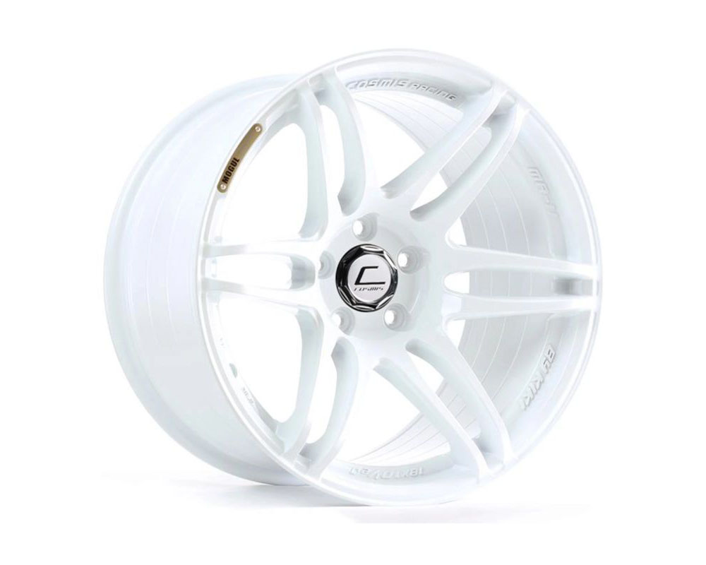 Cosmis Racing MRII Wheel 18x9.5 5x114.3 +15mm White - MRII-1895-15-5x114.3-W