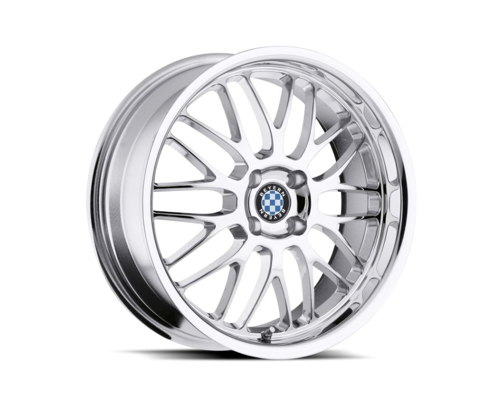 Beyern Mesh Wheel 15x7 4x100 27mm Chrome - 1570BYM274100C57