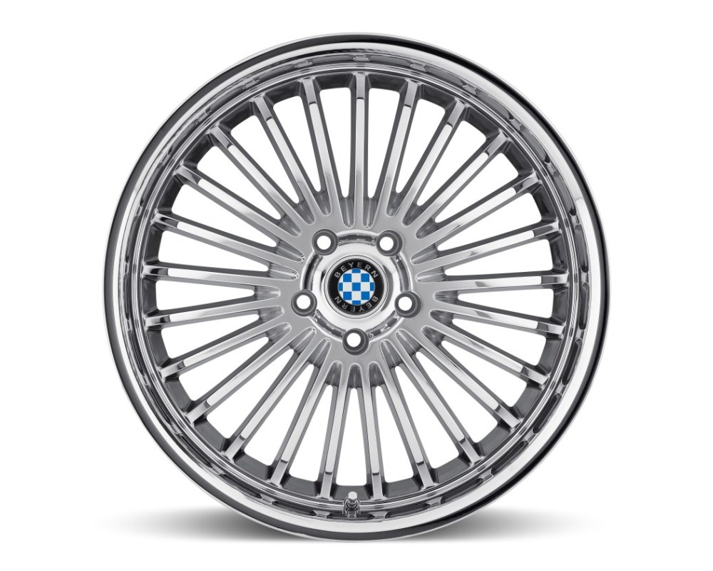 Beyern Multi Chrome Wheel 19x9.5  5x120 45 CB72.6 - 1995BYT455120C72