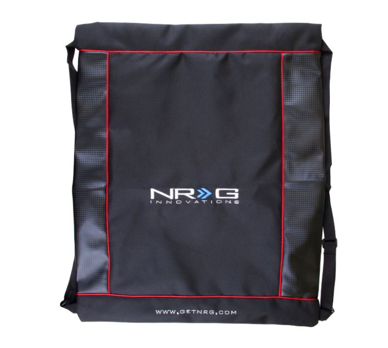 NRG Innovations All Purpose Back Pack w/ Carbon Fiber Look Accents - NT-800