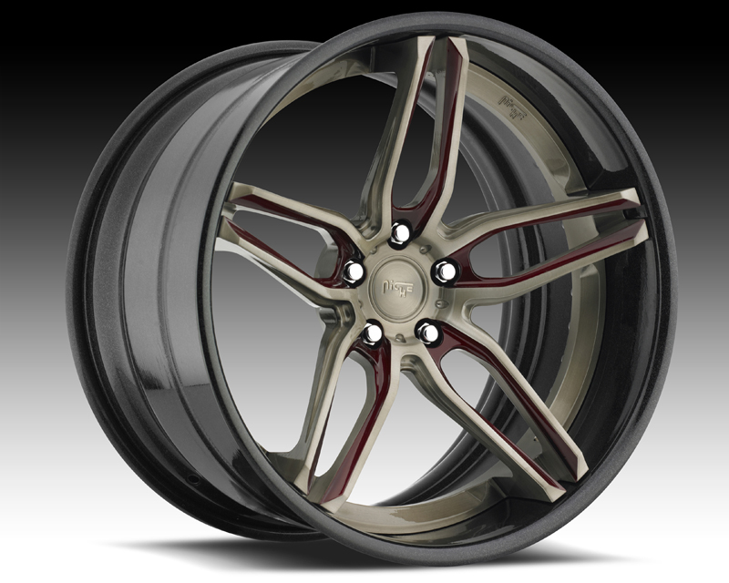 Niche Wheels 3-Piece Series A330 Spyder 18 Inch Wheel