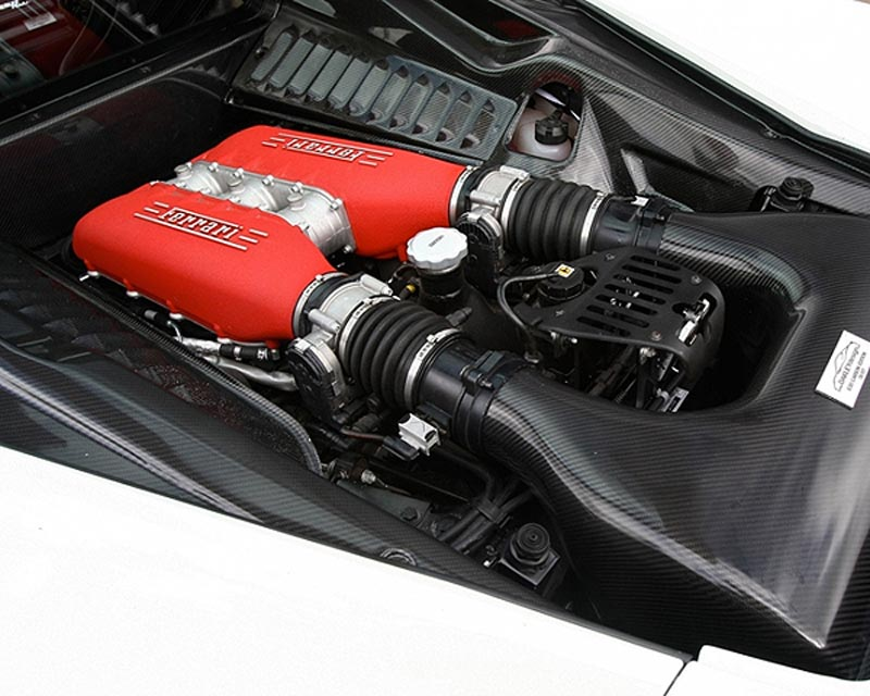 Oakley Design Carbon Fiber Engine Bay Cover Set Ferrari 458 Italia 10+