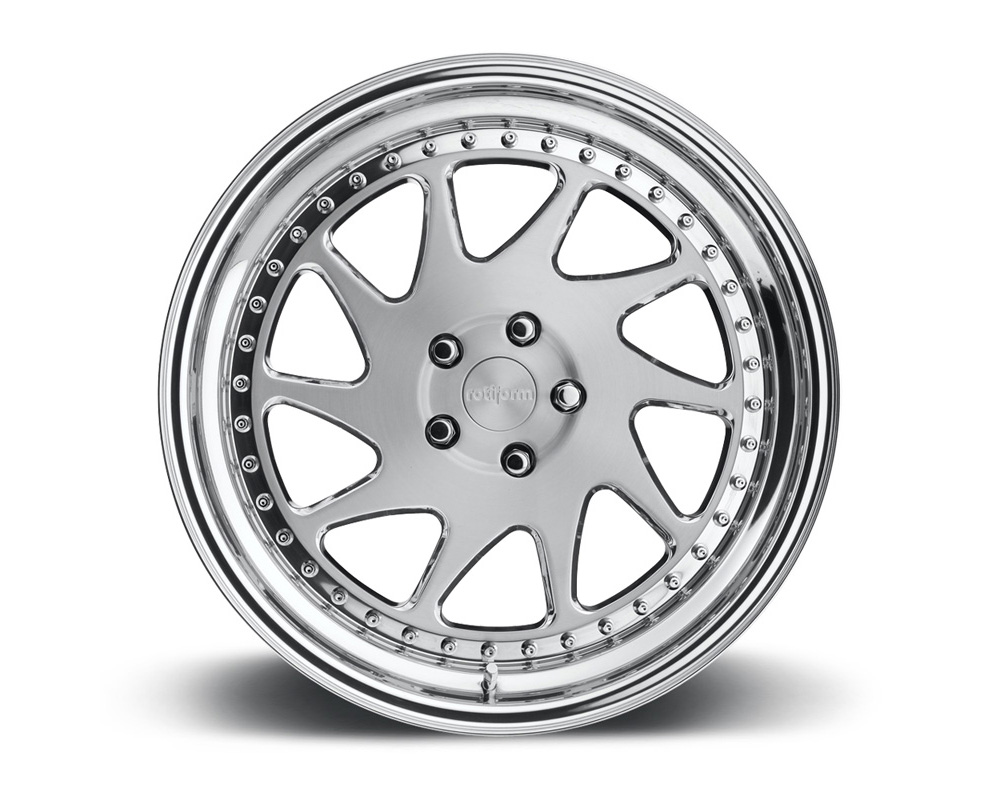 Rotiform OZT 3-Piece Forged Flat/Convex Center Wheels - OZT-3PCFORGED-FLAT