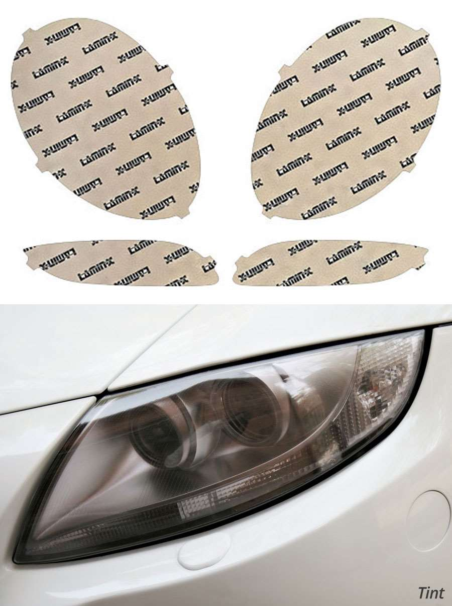 XPEL H2414A Clear Headlamp Signal Lamp and Fog Lamp Protection Kit Weathertech
