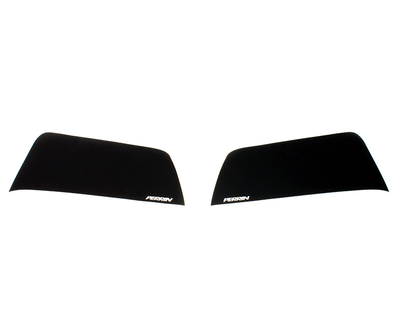 Perrin Exhaust Guards Black w| White Logo Nissan GT-R R35 09-15