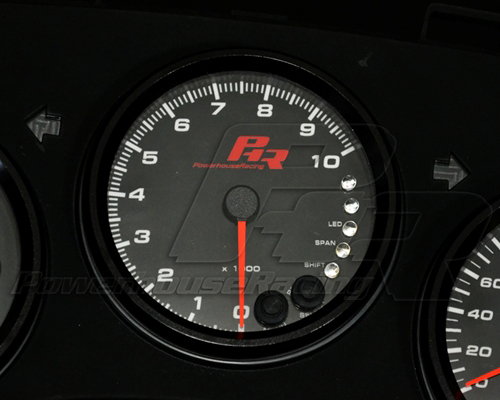 Powerhouse Racing 10K Tachometer Lexus SC300 91-00
