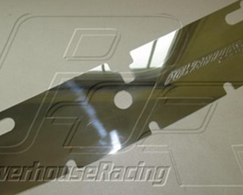 Powerhouse Racing Air Induction Plate Polished Toyota Supra 93-02