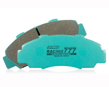 Project Mu Racing 777 Front Brake Pads Nissan R35 GT-R Brembo 09-18 - P7F261