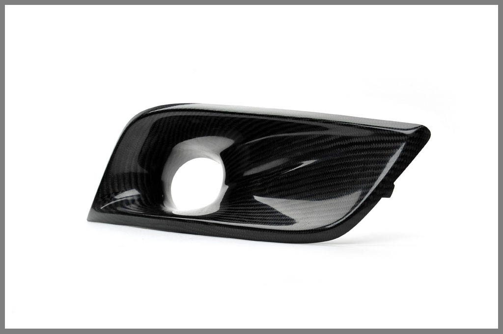 Password JDM Dry Carbon Fiber Bumper Ducts Honda Civic Coupe 09-11