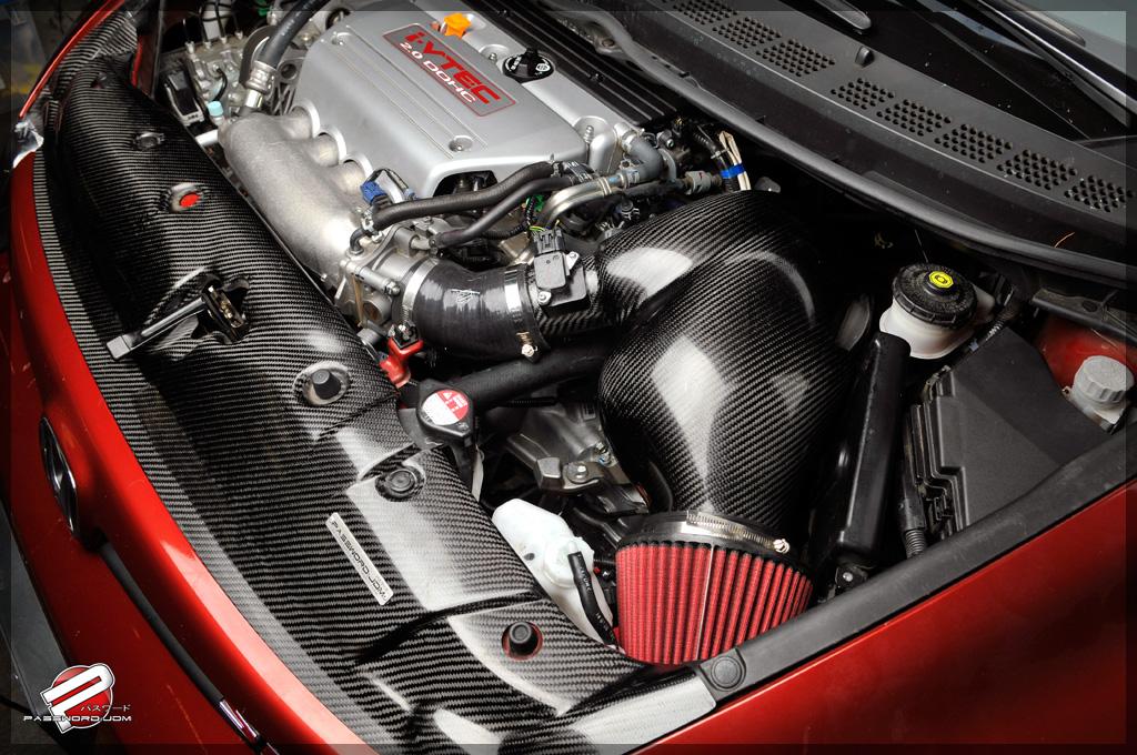 Password Jdm Dry Carbon Fiber Powerchamber Intake Honda Civic Si 0613