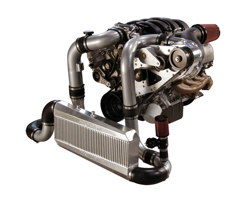 ProCharger Intercooled Serpentine 12 rib Race Kit with F-1A Ford Mustang GT 4.6 3V 05-09 - 1FP213-F1