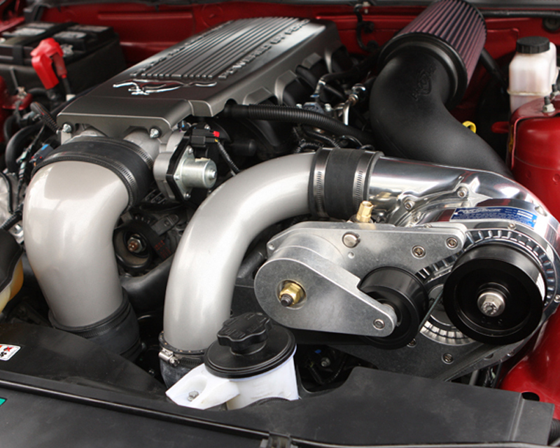ProCharger Intercooled Tuner Kit with P-1SC-1 and Shared Drive Ford Mustang GT 4.6 3V 05-10 - 1FP301-SCI