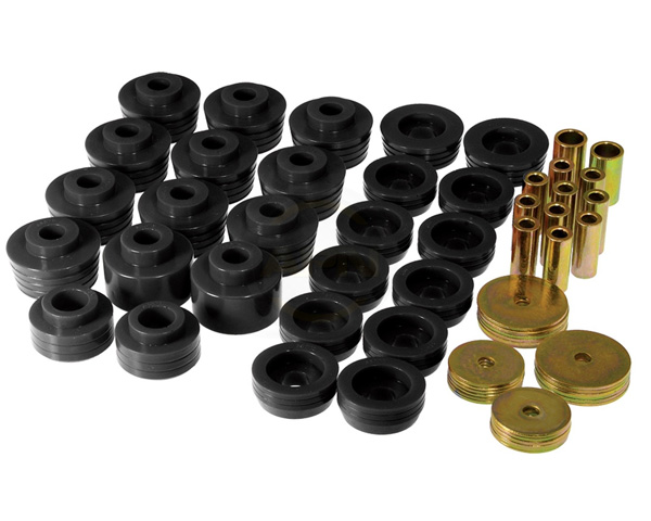 Prothane Black Body Mount Kit Ford Mustang Cobra IRS 99-04