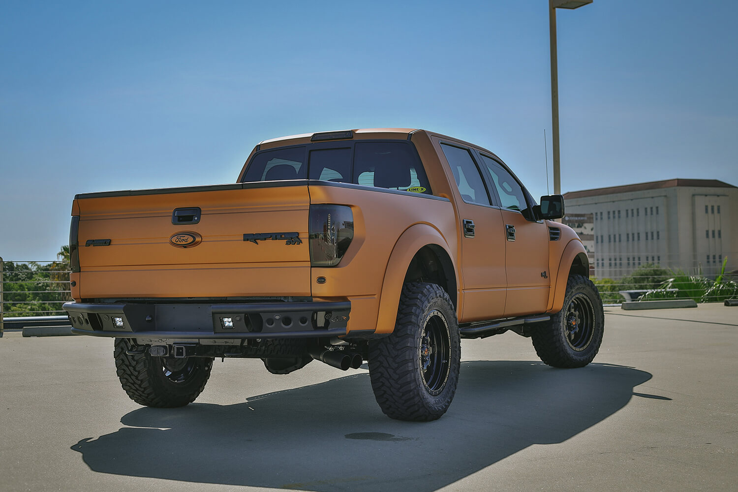 Addictive Desert Design Dimple R Rear Bumper Ford F-150 Raptor 10-14