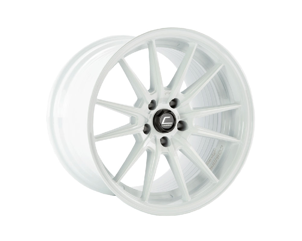 Cosmis Racing R1 Pro Wheel 18x12 5x114.3 +24mmo White - R1PRO-1812-24-5x114.3-W