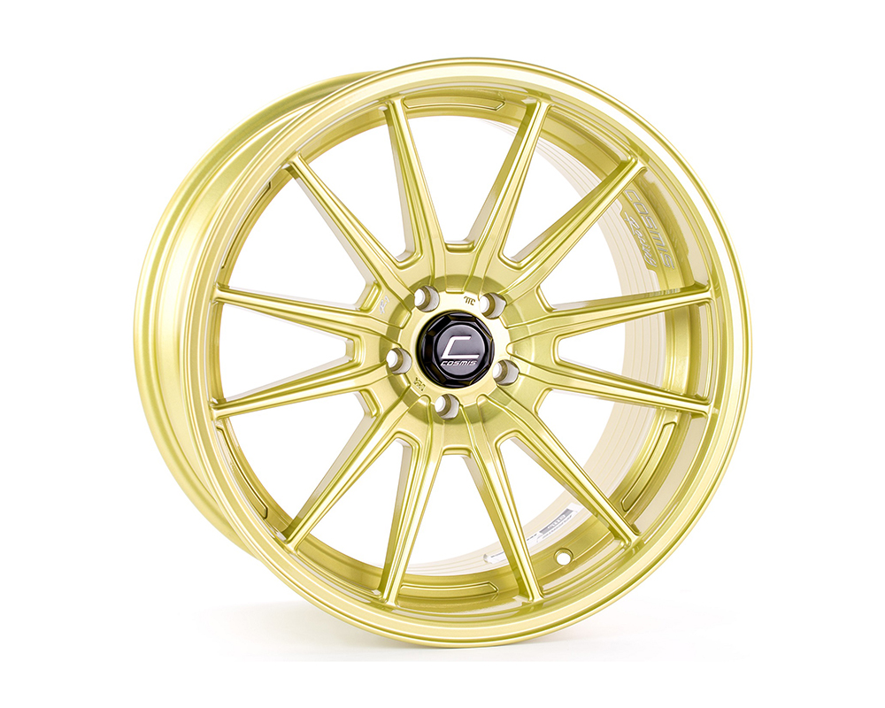 Cosmis Racing R1 Pro Wheel 18x10.5 5x100 +32mm Gold - R1PRO-18105-32-5x100-G