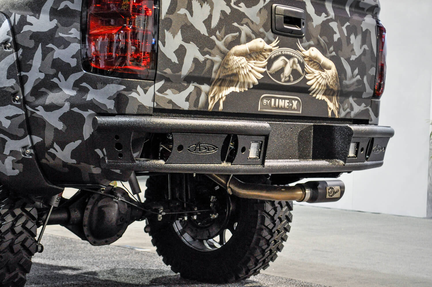 Addictive Desert Design Dimple R Rear Bumper Chevrolet Silverado 1500 14-16