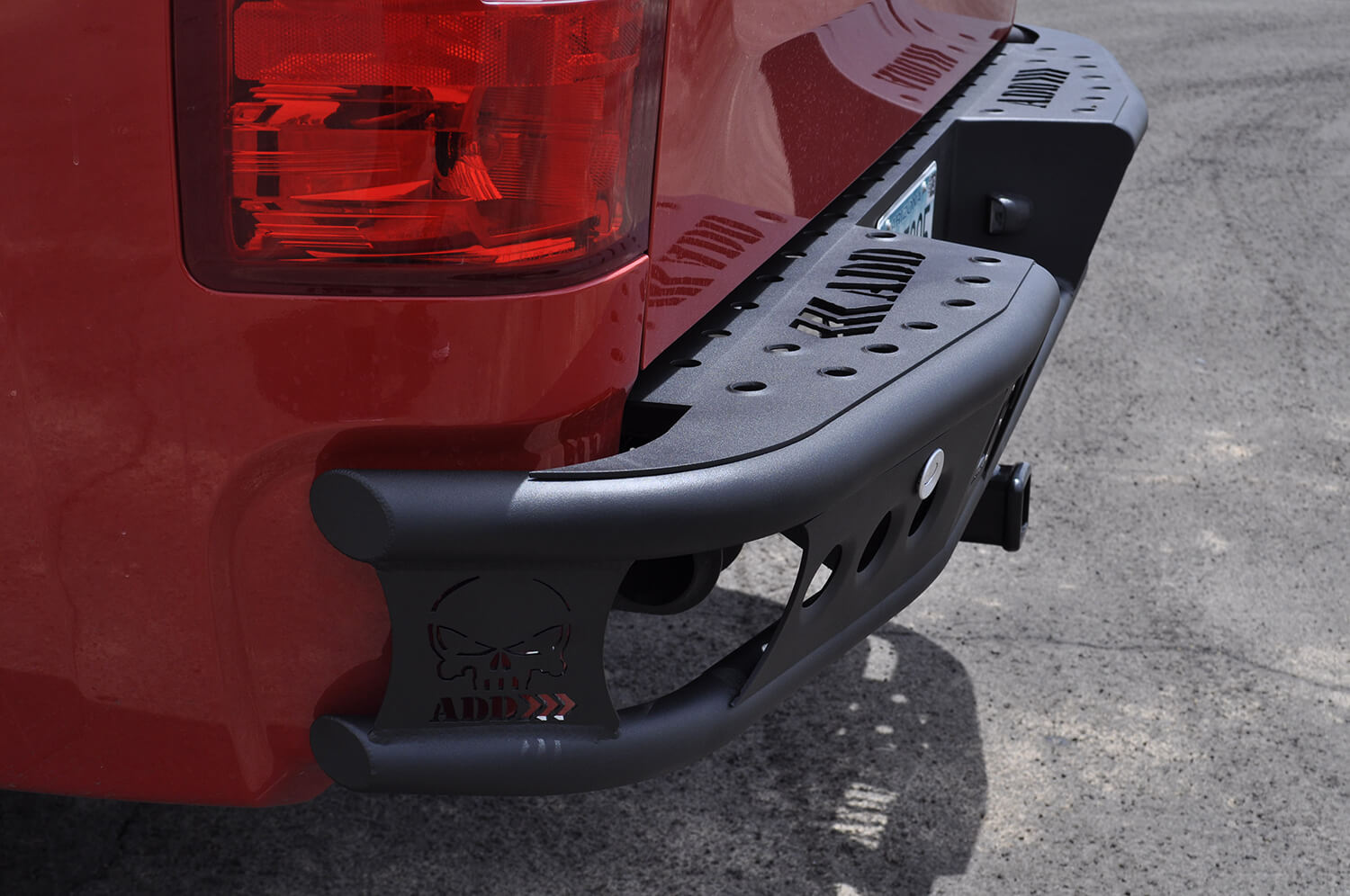 Addictive Desert Design Dimple R Rear Bumper Chevrolet Silverado 1500 07-13