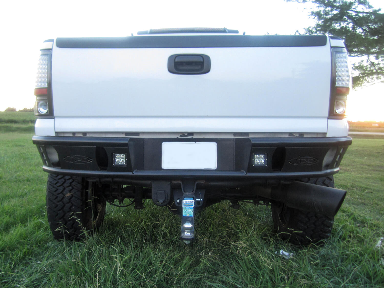 Addictive Desert Design Dimple R Rear Bumper Chevrolet Silverado 2500 99-07