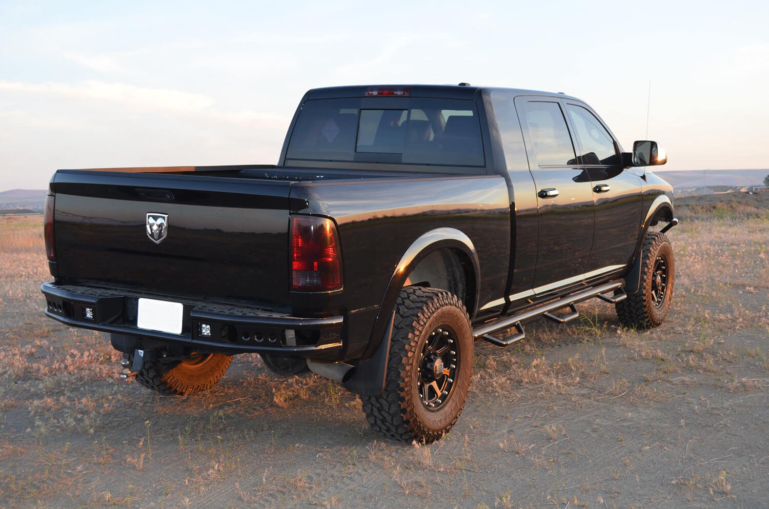 Addictive Desert Design Dimple R Rear Bumper Dodge RAM 1500 2003-2008