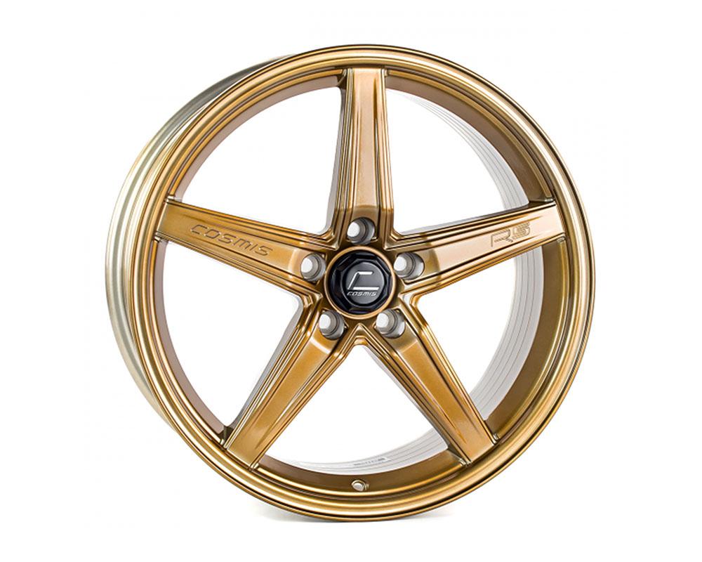 Cosmis Racing R5 Wheel 18x8.5 5x108 +40mm Hyper Bronze - R5-1885-40-5x108-HBR