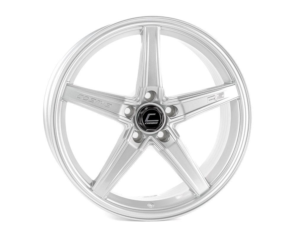 Cosmis Racing R5 Wheel 18x8.5 5x108 +40mm Silver - R5-1885-40-5x108-S