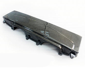 R-Tuned Carbon Fiber Air Box Cover Audi R8 4.2L V8 06-13