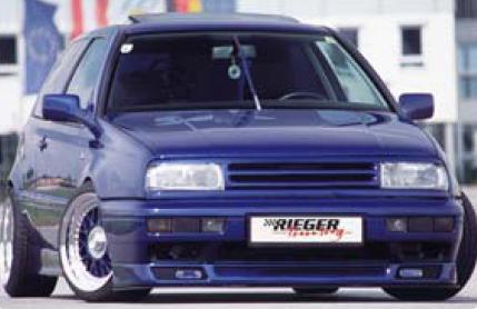 Rieger GTX Front Spoiler Lip Volkswagen Jetta III 93-99 - R 42024