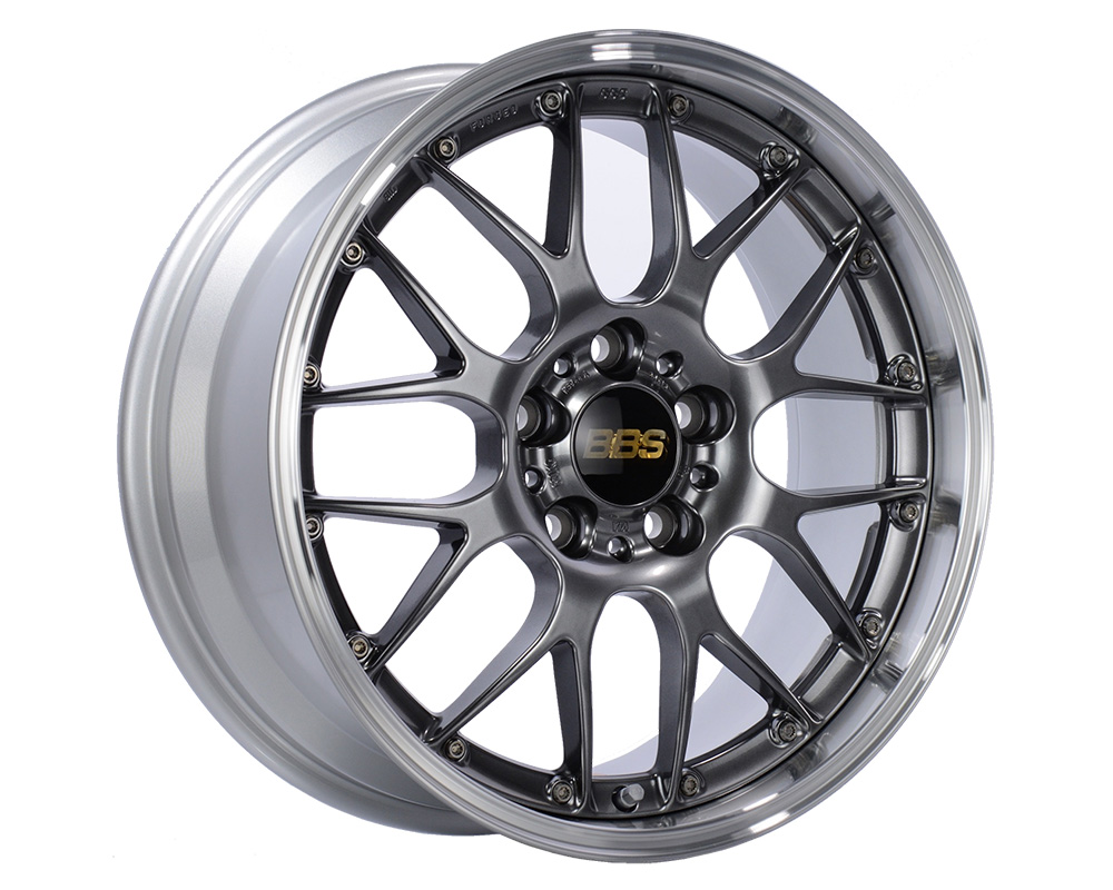 BBS RS983 Diamond Black | Diamond Cut Rim 20x8.5 5x114.3 43 - RS983DBPK