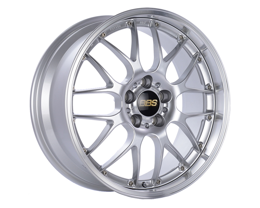 BBS RS924 Diamond Silver | Diamond Cut Rim 19x9.5 5x112 38 - RS924HDSPK